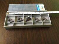 ISCAR 16EL 19W IC908 Threaded carbide inserts 5 PCS FREE SHIPPING
