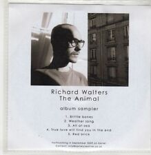 (GU327) Richard Walters, The Animal sampler - 2009 DJ CD