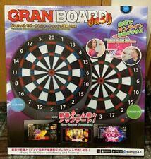 GRAN BOARD Dart Board dash Blue/Red Color Online Battle Bluetooth 4.0 New Darts