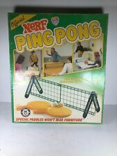 Nerf Ping Pong Table Tennis Set Complete Parker Brothers Vintage