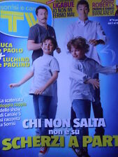 TV Sorrisi e Canzoni 15 2012 Paola Barale - Luciano Ligabue Valentino Rossi D18