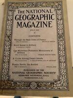 National Geographic Magazine July 1923