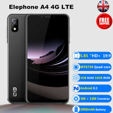 5.85'' Elephone A4 4G LTE Smartphone 3+16GB Android8.1 OTG Unlocked Mobile Phone