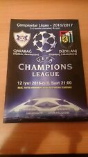 Qarabag Aqdam Azerbaijan - F91 Dudelange Luxembourg 12.07.2016 Champions League.