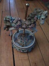 Carousal horse music Box. Good condition