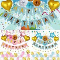 Alluminio Pellicola Palloncino Baby Shower Bambini Casa Festa di Compleanno UK1