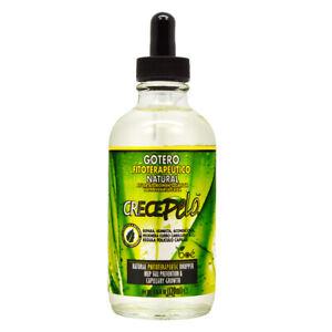 BOE Cosmetics Crece Pelo Gotero 4.25-ounce Hair Growth Dropper w/Free Nail File