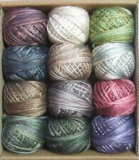 Valdani Luxury Silk Floss Cottage Smoke 6 Strand Hand-dyed 12 Spool VAK1005