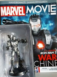 Marvel Movie Collection #05 War Machine Iron Man 2 Eaglemoss German Magazi
