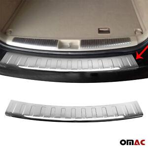 For Mercedes ML W164 2006-2011 Chrome Rear Bumper Guard Trunk Sill Cover S.Steel