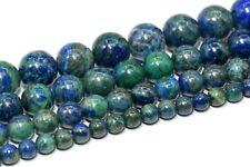 Natural Azurite Beads Grade AAA Round Gemstone Loose Beads 4/6/8-9/10/15-16MM