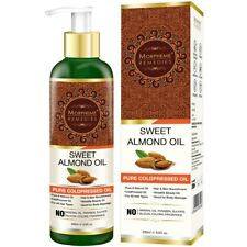 Morpheme Pure Sweet Almond Coldpressed Oil.For all hair types (Buy 200ml)