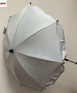 OMBRELLINO parasole universale passeggino grigio OS111232 PICCI -nuovo-Italia