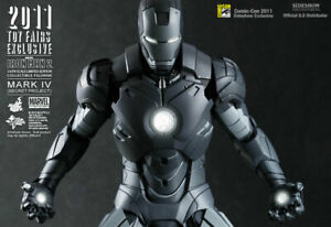 SIDESHOW SDCC EXCLUSIVE MMS153 IRON MAN SECRET PROJECT HOT TOYS 1/6 FIGURE
