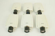6 x AXIS 210 Network Cameras / IP Cam CCTV / Sécurité surveillance / Tested
