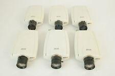 6 x AXIS 210 Network Cameras / IP Cam CCTV / Sécurité surveillance / Tested