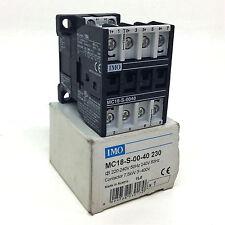 Contactor MC18-S-00-40-230 IMO 220-264VAC 7.5kW MC18S0040230*NEW*