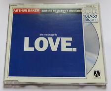 ARTHUR BAKER & THE BACKBEAT DICIPLES - THE MESSAGE IS LOVE - Maxi CD 4 tracks