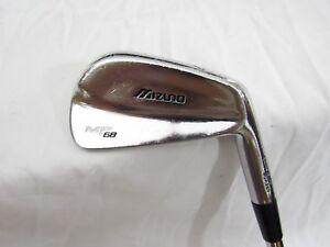 Used RH Mizuno MP-68 Single 6-iron - Dynamic Gold Steel R300 Regular Flex R Flex