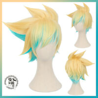 League of Legends LOL Ezreal Star Guardian Cosplay Costume Hair Wig +Track NO