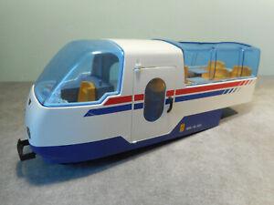Playmobil 4016 - Locomotive Train RC - Wagon Passagers Gare - 4011