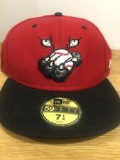 Ottawa Lynx Baseball Cap Hat Fitted Sz 7 1/2 New Era 5950 59 Fifty 50 Vintage