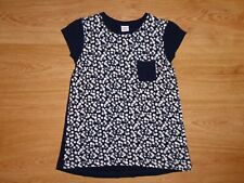 Girl's Polarn O. Pyret Multi Floral Stretch Viscose Jersey Top Age 8-10 Years
