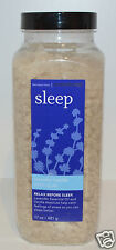 NEW BATH & BODY WORKS AROMATHERAPY SLEEP LAVENDER VANILLA BATH SOAK SALT FIZZ