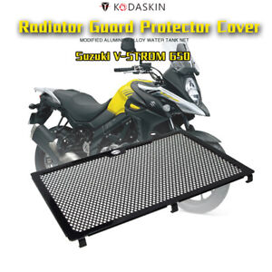 Domilay Motorcycle Accessories Modification Headlight Grille Guard Cover Protector for Suzuki V-Strom 650 Vstrom 650 2017-2019
