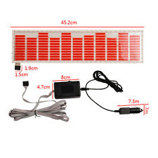 Car Sound70x16cm Music Activated Sticker Equalizer LED Rhythm Flash EL Light