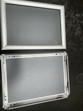 Aluminium A4 Clip Display Frames X 2