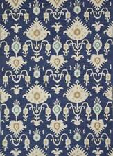 Transitional Hand made Deep Navy Dark Ivory Color 8X10 Feet Wool Flat Weaves Rug