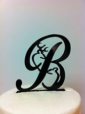 Deer Letter Wedding Cake Topper  MADE In USA…..Ships from USA