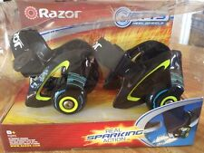 Razor Jetts Heel Wheels Nip Real Sparking Action
