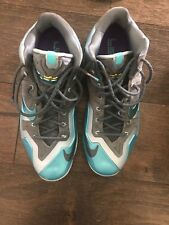 Nike Lebron. Size 15. Blue And Gray.