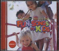Fun For kids volume 3 - thmost lovedkid's songs sung by kids cd