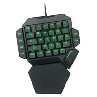 K50 Wired USB One-Handed Keyboard Macro Definition Mechanical Gaming Keypad #JT1