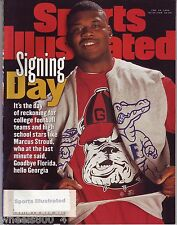 1996 Sports Illustrated Georgia Bulldog Marcus Stroud Subscription Issue NR/Mint