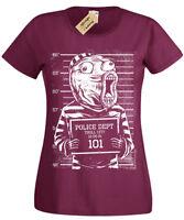 Troll Womens T-Shirt funny Face Internet Meme Forum ladies Mugshot online lol