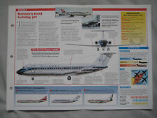Aircraft of the World Card 15 , Group 2 - BAC One-Eleven
