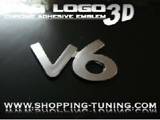 LOGO EMBLEM 3D TUNING V6 ALFA ROMEO 147 156 166 75