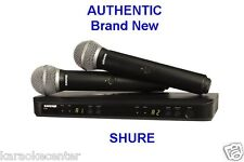 Shure BLX288 Dual-Channel Handheld Wireless System with 2 PG58 Mics BLX288/PG58