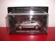 peugeot 407 elixir prototype concept car scale 1/43 norev