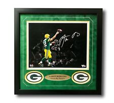 Aaron Rodgers Signed Packers 11x14 Framed Photo Fanatics Green Bay Autograph