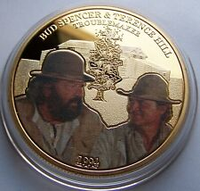 Die Troublemaker / Bud Spencer & Terence Hill - MEDAILLE - GOLD - RAR
