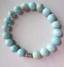 Amazing Quality Hemimorphite Stretch Bracelet Handmade JH Fine Bead Jewelry