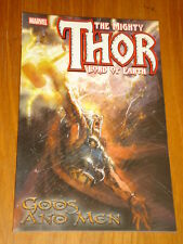 THOR MIGHTY LORD OF EARTH VOL 6 GODS AND MEN MARVEL DAN JURGENS< 9780785115281