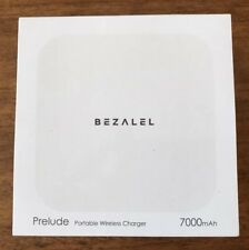 BEZALEL Prelude Portable Wireless Charger Pad White