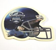 Budweiser Beer Bier Bierdeckel Untersetzer USA Coaster American Football Helm