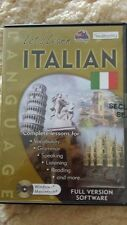 Let's Learn Italian PC CD ROM -FREE POST